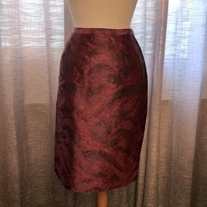 NWT Ann Klein swing time skirt size 10